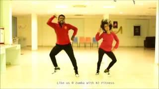 Cham Cham   Zumba Choreo by Naveen Kumar & Jyothi Puli   NJ Fitness   YouTube 360p