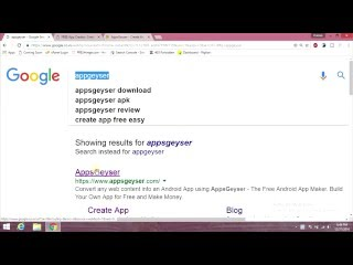 MAKE ANDROID APP AND EARN MONEY