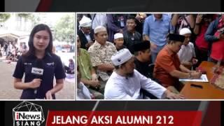 Kondisi Terkini Jelang Aksi Long March Alumni 212 Menuju Komnas HAM - iNews Siang 02/06