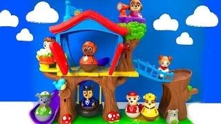 Best Learning Colors Video for Children  - Paw Patrol Weebles Treehouse Playground