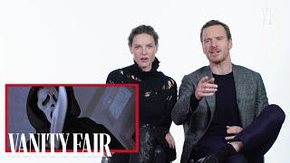 Michael Fassbender Reviews Serial Killer Movies with Rebecca Ferguson  | Vanity Fair