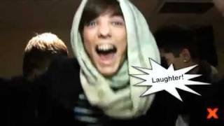 The X Factor 2010 - Zayn Malik VS Liam Payne from One Direction QuickFire Questions