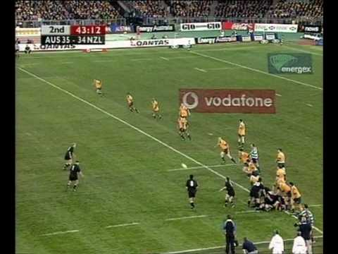 The Greatest Game of Rugby Ever Played Wallabies Vs All Blacks Sydney 2000