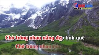 Tình Em Biển Rộng Sông Dài    Karaoke Nhạc Sống hay nhất 2017    Âm thanh good    Hình ảnh Full HD