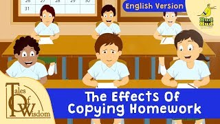 Tales Of Wisdom | Episode 30 | The Effects Of Copying Homework | Pop Up Book