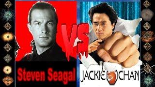 Steven Seagal (Hard to Kill) vs Jackie Chan (Druken Master) - Ultimate Mugen Fight 2016