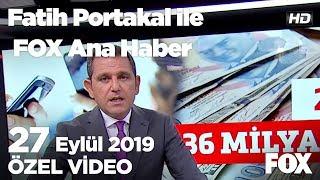 20 yıl boşa gitti! 27 Eylül 2019 Fatih Portakal ile FOX Ana Haber