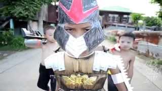 NinJa rùa phiên bản nhí, dù tiếng Thái không hiểu gì nhưng vẫn cười thoải mái