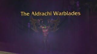 The Story of Aldrachi Warblades [Artifact Lore]