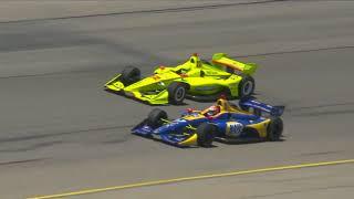 Indycar 2018 - Fecha 11 - Iowa (Audio Español Latino)