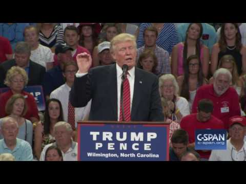 watch Donald Trump on Hillary Clinton and the Second Amendment (C-SPAN)