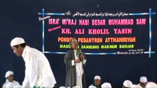 mauidhotul hasanah di acara isra'mi'raj di banjar kal-sel