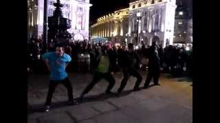 Street Dance Group - Picadilly Circus  - London