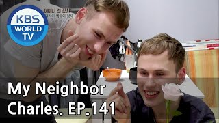 My Neighbor, Charles | 이웃집 찰스 - Ep.141 Decalcomania Twins Geny & Oleg from Russia. [ENG/2018.05.25]