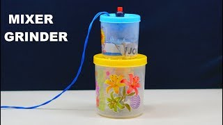 How to Make a Mixer Grinder (very simple)