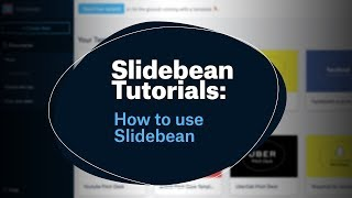 How to use Slidebean a quick intro - Slidebean Tutorials