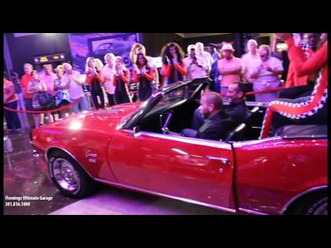 Maryland Live Casino s Giveaway of Fleming s Ultimate Garage s 68 Camaro RS SS