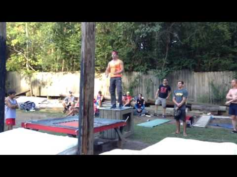 Ultimate Backyard Warrior 2016 Drew Drechsel Stage 3