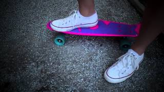 Skateboard How to Ride a Penny Skateboard for beginners HD 2013
