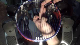 Badminton Stringing Lapse - Yonex Duora 10 LCW - New York Badminton Center