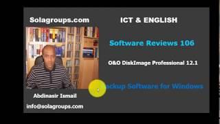Software Reviews 106 O&O DiskImage 12