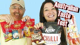 AUSTRALIAN Candy Taste Test Allen