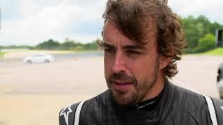 Fernando Alonso 2018 Barber IndyCar test