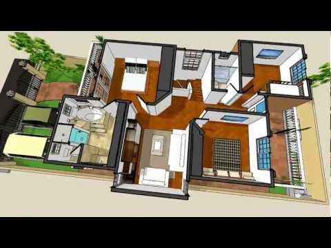 Planos de casas Modelo San Celso 50 Arquimex Planos de casas