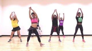 Bun Up The Dance High-Impact Zumba Dance Routine by Tee Yasmeen