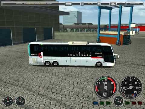 18 WOS HAULIN bus trip with Busscar JumBus 400 part1