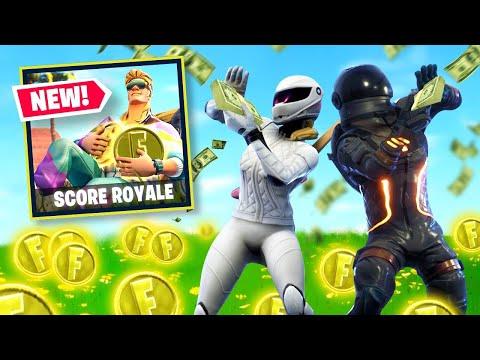 NEW MONEY WARS Gamemode In Fortnite Battle Royale Score Royale