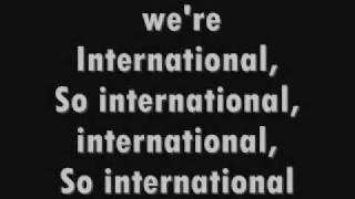 INTERNATIONAL LOVE LYRICS CHRIS BROWN FEAT. PITBULL