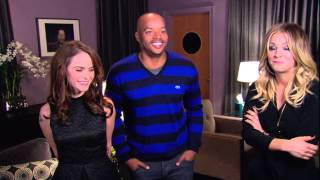 Hollywood Game Night: TARYN MANNING, DONALD FAISON & KALEY CUOCO Interview