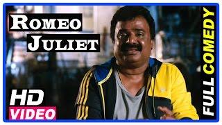 Romeo Juliet Tamil Movie | Full Comedy Scenes | Jayam Ravi | Hansika | VTV Ganesh