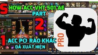 Bình Luận Game Vua Hải Tặc Show Acc VHT 501 AE Part 2, 1 Acc Pờ Rào Khác Đã Xuất Hiện :)))