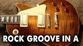 Backing Track - Rock Groove in A - with free download