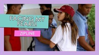 Facing My Fears! (Part 2) Zipline | Andrea B.