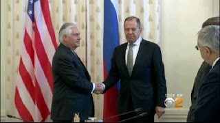 Tillerson In Russia