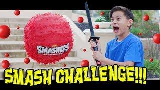 SMASH ATTACK - SMASHERS SMASH CHALLENGE!!! Gotta Smash Em All!