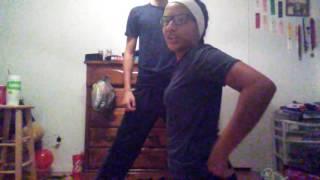Yoga challenge! Brother and sister 2.0