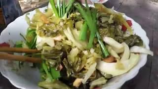 Lạp Xưởng ăn cùng Cải Chua trộn -  Bến Tre - Hương vị đồng quê