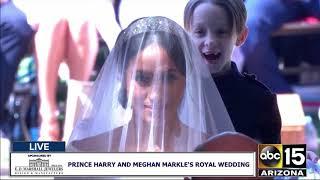FULL: Meghan Markle walks down the aisle at the Royal Wedding