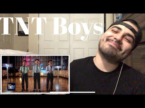 "Reaction to TNT Boys ""Silent Night"""