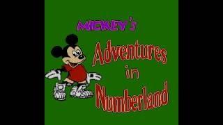 NES Longplay [652] Mickey's Adventures in Numberland