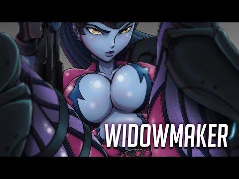Xxx Mp4 WIDOWMAKER OVERWATCH Speedpainting Reupload 3gp Sex