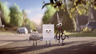 Google Android - Rock, Paper, Scissors Advert
