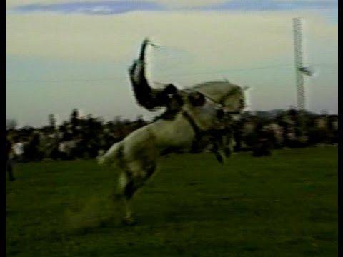 Archivo 1989 Monta de Aldo Gonzalez en El zorro de Pasarotti comentada por Tucuta Schang