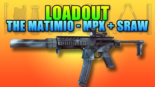 Loadout - Matimi0 Style MPX SRAW MP443 Engineer | Battlefield 4 PDW Gameplay
