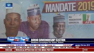 Shettima Campaigns For Zulum, Buhari