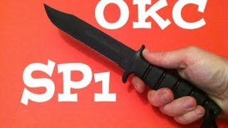 Ontario SP1 Knife Review & Field Test